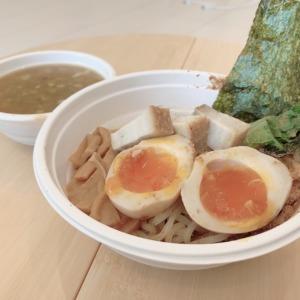 江ノ島駅1分の江乃華JAPAN RAMENでつけそばをテイクアウト!全粒粉太麺に絡む濃厚つけダレ、トロトロの味玉!進化する自宅メシの可能性を感じた件