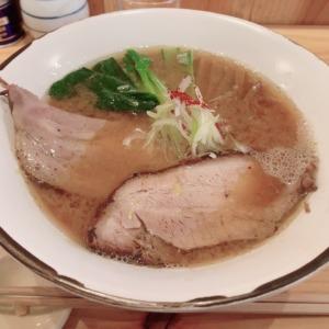 腰越の淡麗系ラーメン、トランポリンにて限定大人味噌そばを堪能!トロトロで旨味たっぷりの絶品チャーシューに魚介の旨味が出る味噌スープ、平打ち麺をズルズルススっていく!